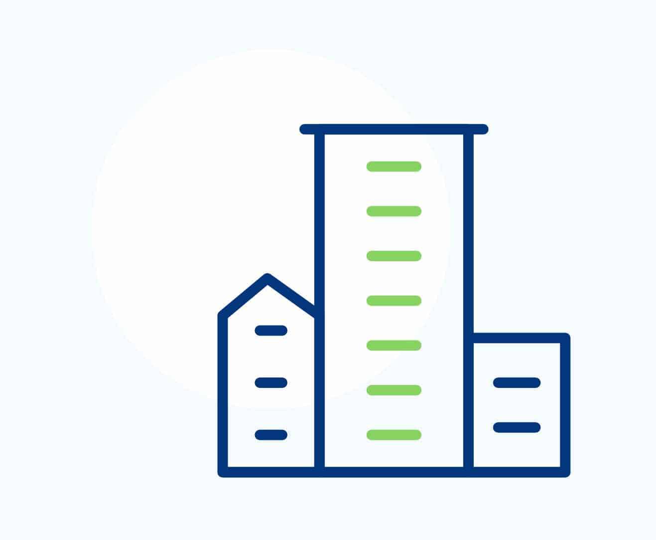 Les solutions de ventilation VTI sont adaptées aux bâtiments d'habitation collectives
